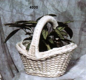 Concrete Flower Basket Planter - Flowers Healthy