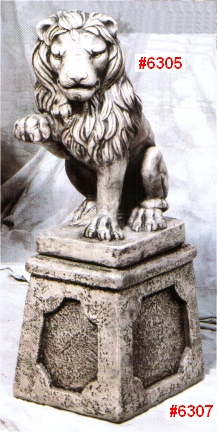 Lion, Right Facing